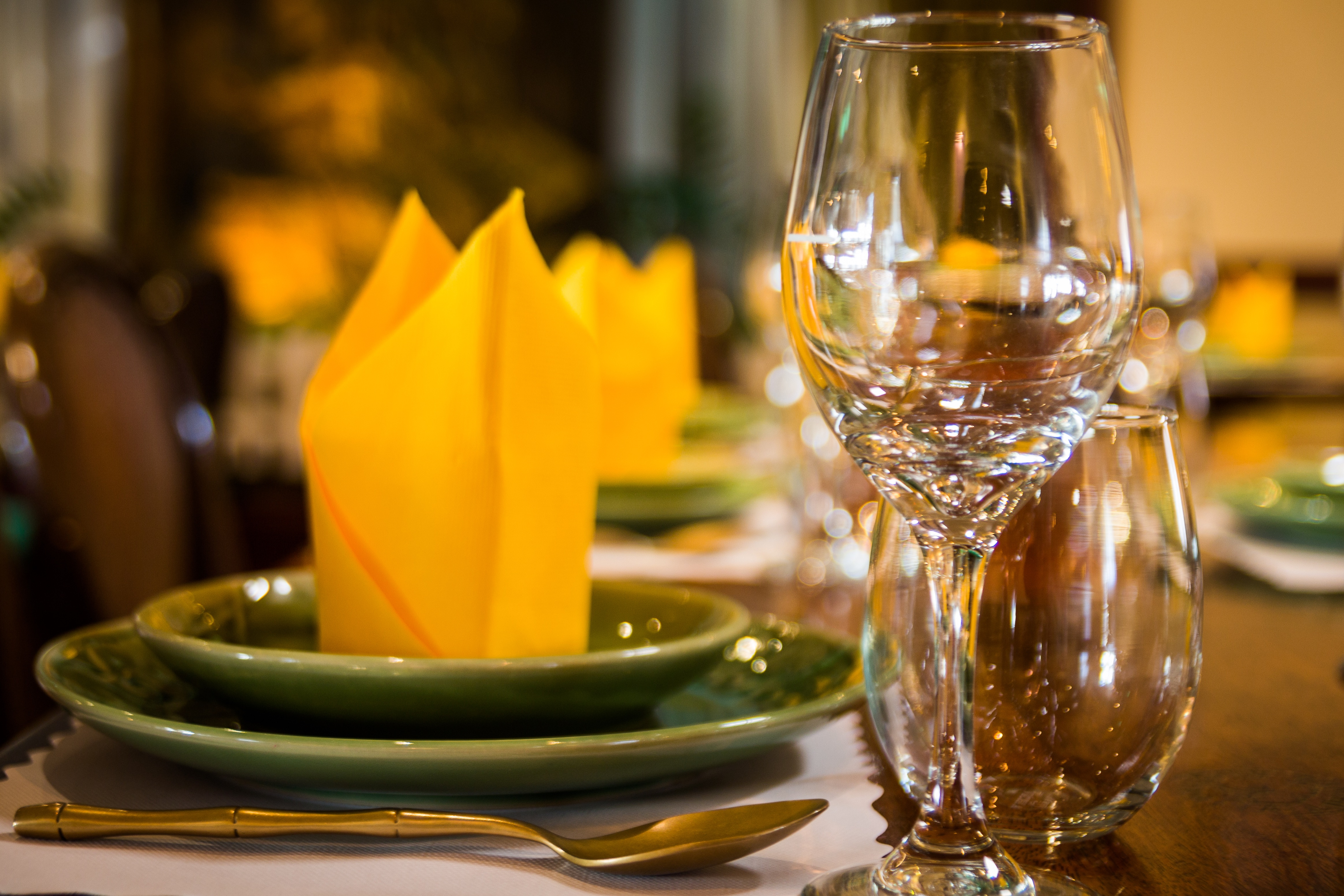 MyThai Restaurant Table Setting